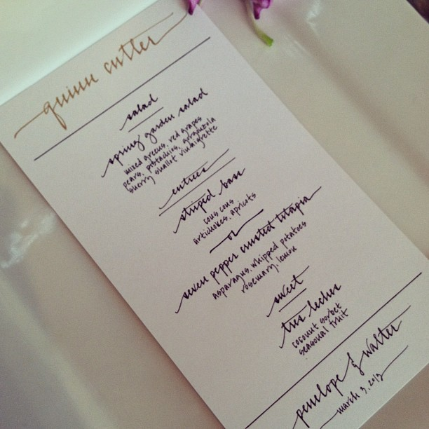 quinn cutler menu
